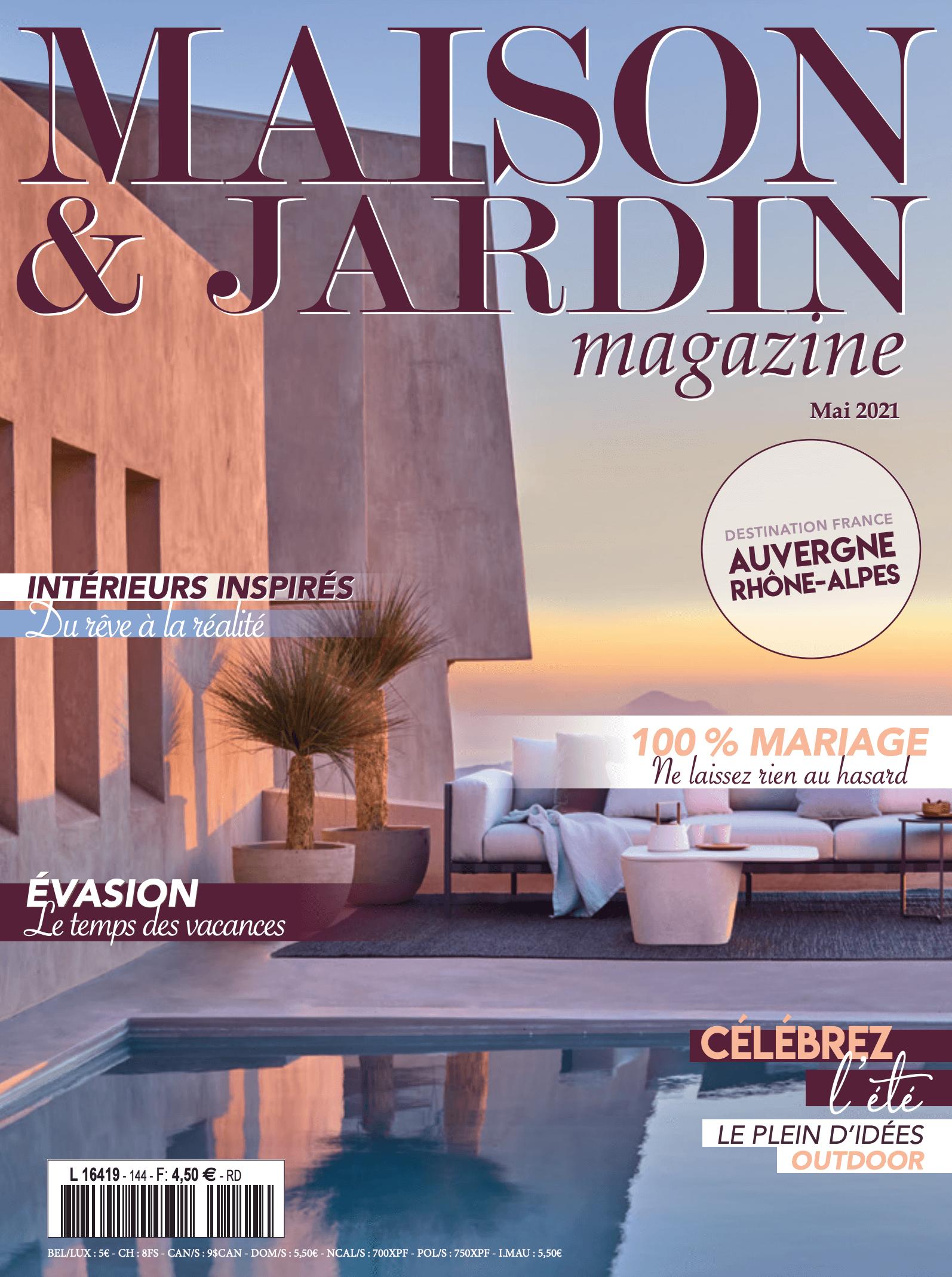 Altobuy sur Maison & Jardin magazine Mai 2021