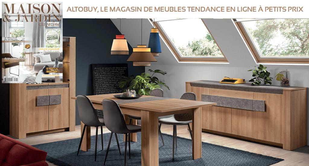 Altobuy sur Maison & Jardin magazine Août 2021